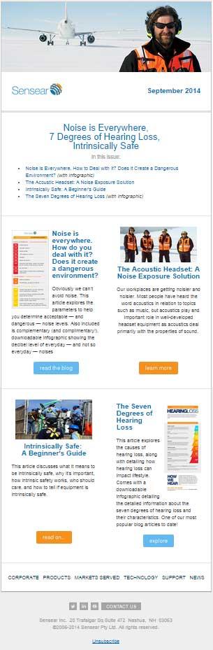 sensear-newsletter