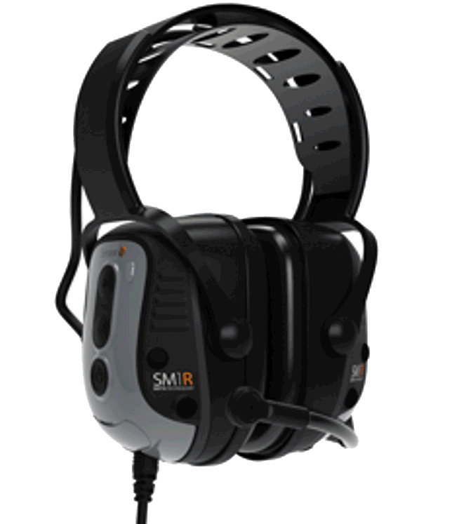 SM1R  IS Headsets for Two-Way Radios