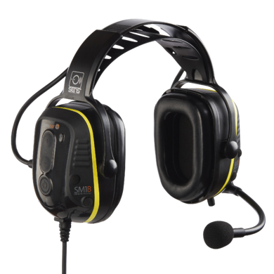 SM1B Two-way Radio Headsets